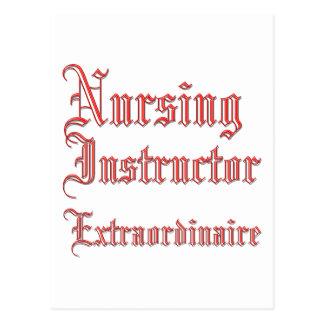 Instructor del oficio de enfermera - Extraordinair Tarjeta Postal