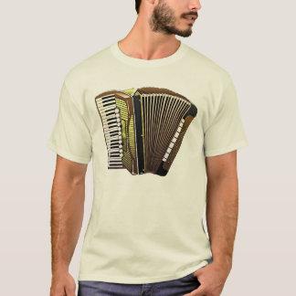 Instrumento musical del acordeón hermoso camiseta