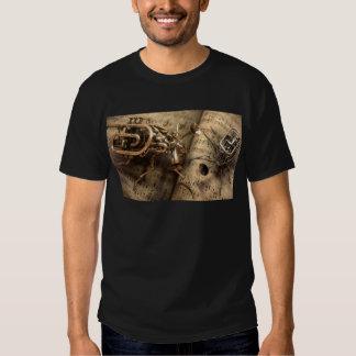 Instrumentos musicales. camisetas