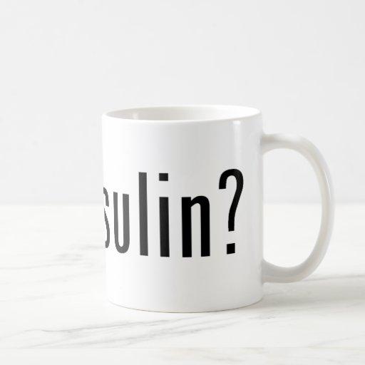¿insulina conseguida? taza de café