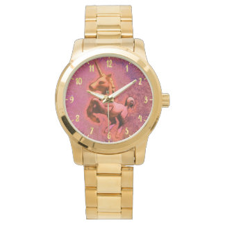Intensidad roja del reloj el | del unicornio