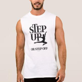 Intensifique o camine de (la danza) camiseta sin mangas