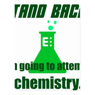 Intentar química postales