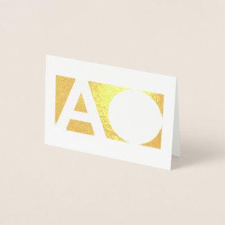 intente la otra cuenta tarjeta con relieve metalizado