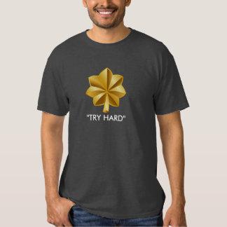 Intento importante difícilmente (GRIS) Camisetas