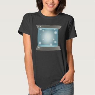 Interferencia: el icono de la búsqueda teleport camisetas