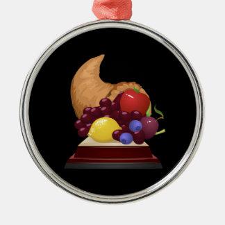 Interferencia: frutas de la colección del logro ornamento de navidad