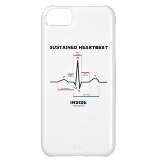 Interior continuo del latido del corazón (ECG/EKG) Funda Para iPhone 5C