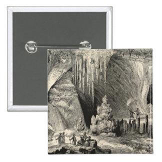Interior de la gruta de Antiparos Pins