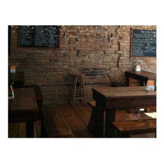 Interior de la panadería de la hiedra postal
