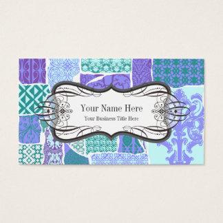 Interiorista/decorador profesionales tarjeta de visita