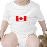 International de la BANDERA de Canadá Camisetas