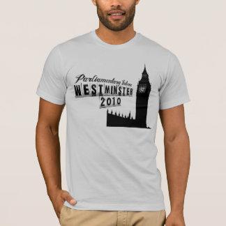 Interno parlamentario - Westminster 2010 Camiseta