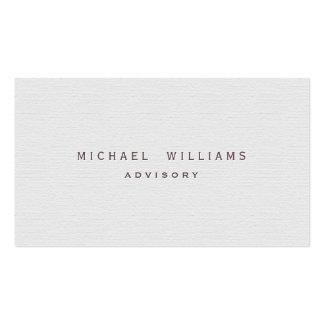 Tarjetas de con diseños del color blanco