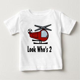 Interruptor de Lil del helicóptero Camiseta De Bebé