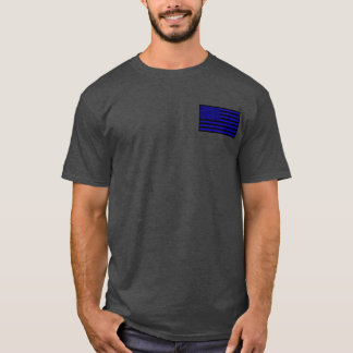 Intrépido como camisa fina de Blue Line del león