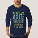 Introverts unen camisetas