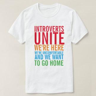 INTROVERTS UNEN la camiseta