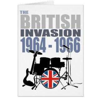 Invasión británica III Tarjeta De Felicitación