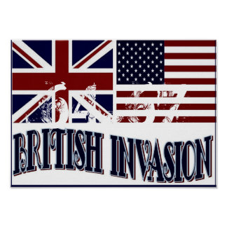 INVASIÓN BRITÁNICA PÓSTER