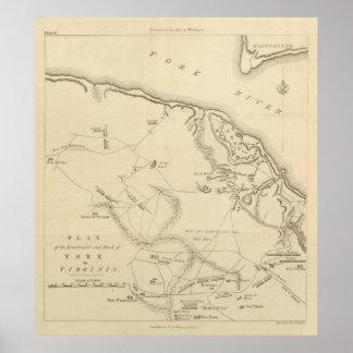 Inversión y ataque de York en Virginia 2 Póster