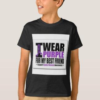 Investigación de la fibrosis quística de la ayuda camiseta