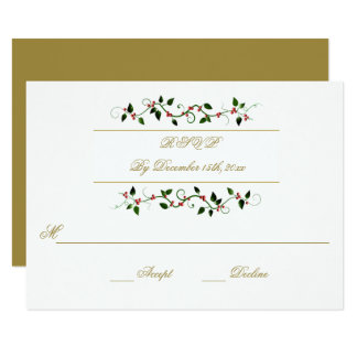 Invierno del día de fiesta del navidad que casa la invitación 8,9 x 12,7 cm