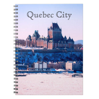 Invierno el | la ciudad de Quebec Cuaderno