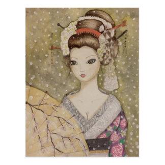 Invierno en Kyoto Postal