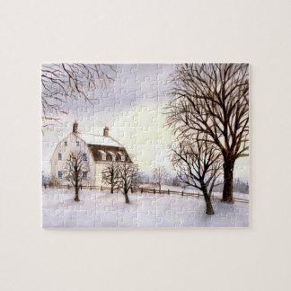 Invierno en Nueva Inglaterra Puzzle
