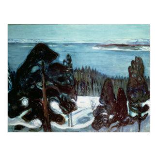 Invierno Night, 1900 Postal