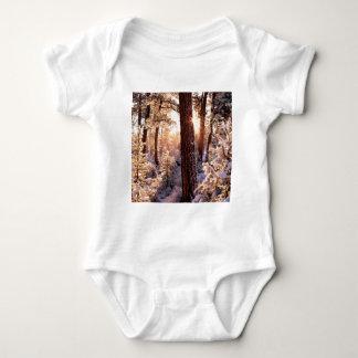 Invierno Ponderosa Starburst Fremont Oregon Camisas
