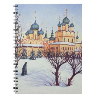 Invierno ruso 2004 libretas espirales