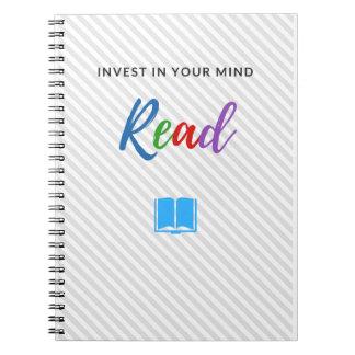 Invierta en su mente - cuaderno
