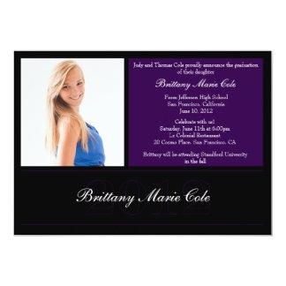 Invitación 2012 de la graduación