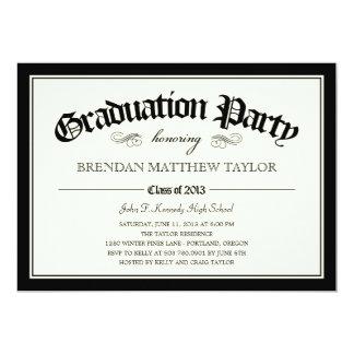 Invitación 2013 de la fiesta de graduación del