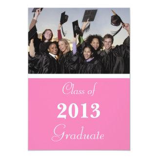 Invitación 2014 de la graduación