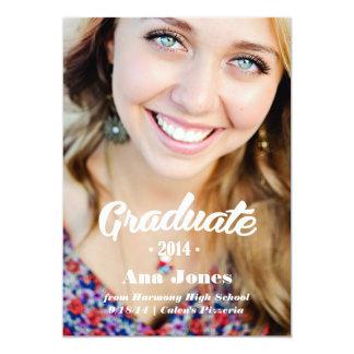 Invitación 2014 de la graduación de la universidad