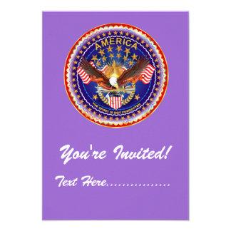 Invitación 3 5 x 5 América no olvidada…