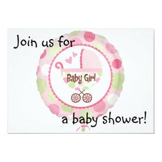 Invitación 3 de la ducha de la niña