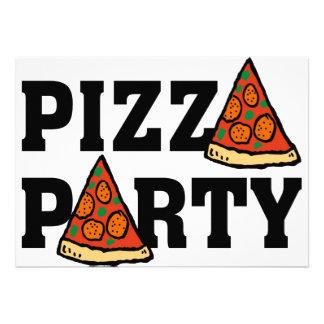 invitación 3 del fiesta de la pizza
