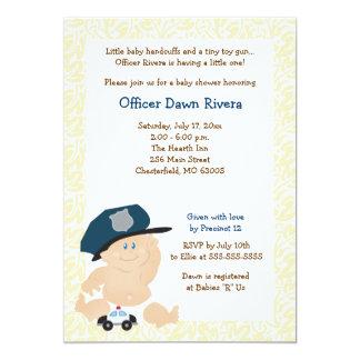 Tarjeta Invitación 5x7 de la fiesta de bienvenida al bebé