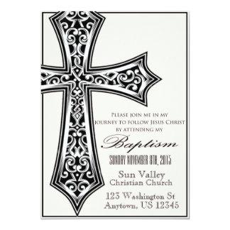 Invitación 5x7 del bautismo