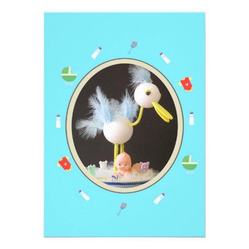 Invitacion a Baby Shower Comunicados Personales