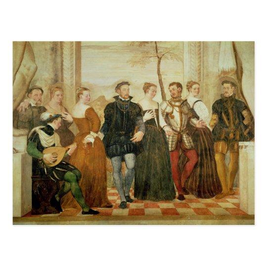 Invitación a la danza, 1570