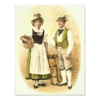 Invitación a una feria de vino, degustación de invitación 10,8 x 13,9 cm