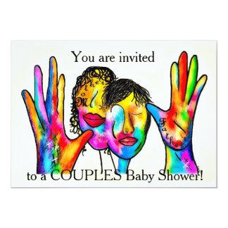 Invitación a una fiesta de bienvenida al bebé de