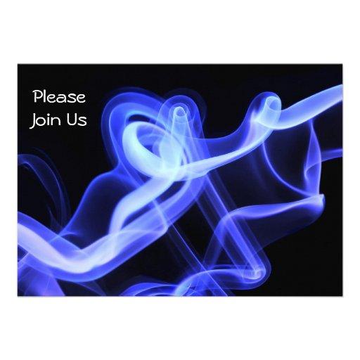 Invitación abstracta del baile