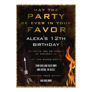 Invitación adolescente del cumpleaños