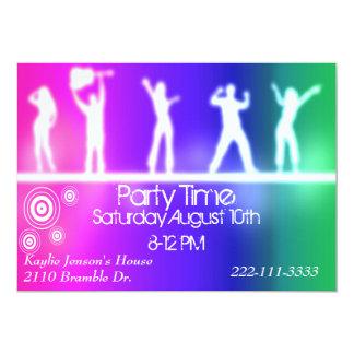 Invitación adolescente del fiesta